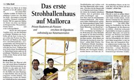 """""""Das erste Strohballenhaus auf Mallorca"""""""