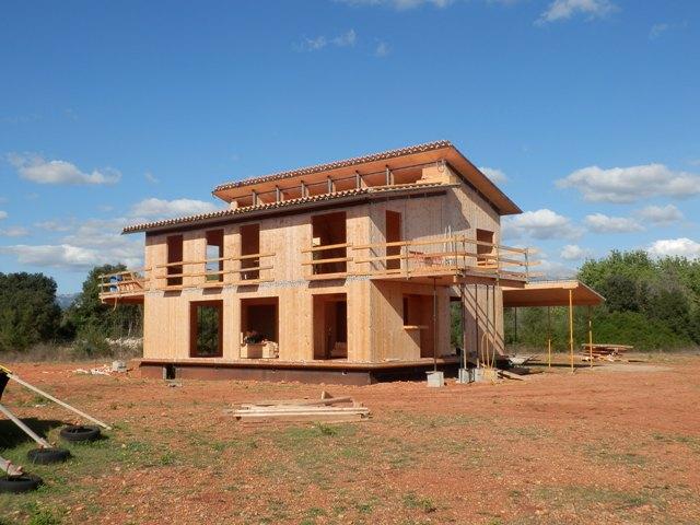 En construcción: Casa de paja en Inca (I)