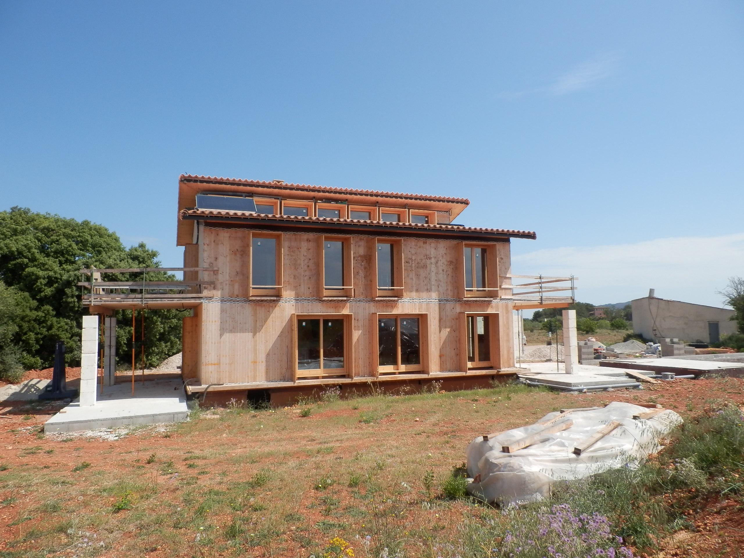 En construcción: Casa de paja en Inca (III)