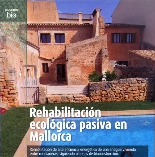 Rehabilitación ecológica pasiva en Mallorca
