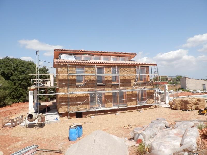 En construcción: Casa de paja en Inca (IV)
