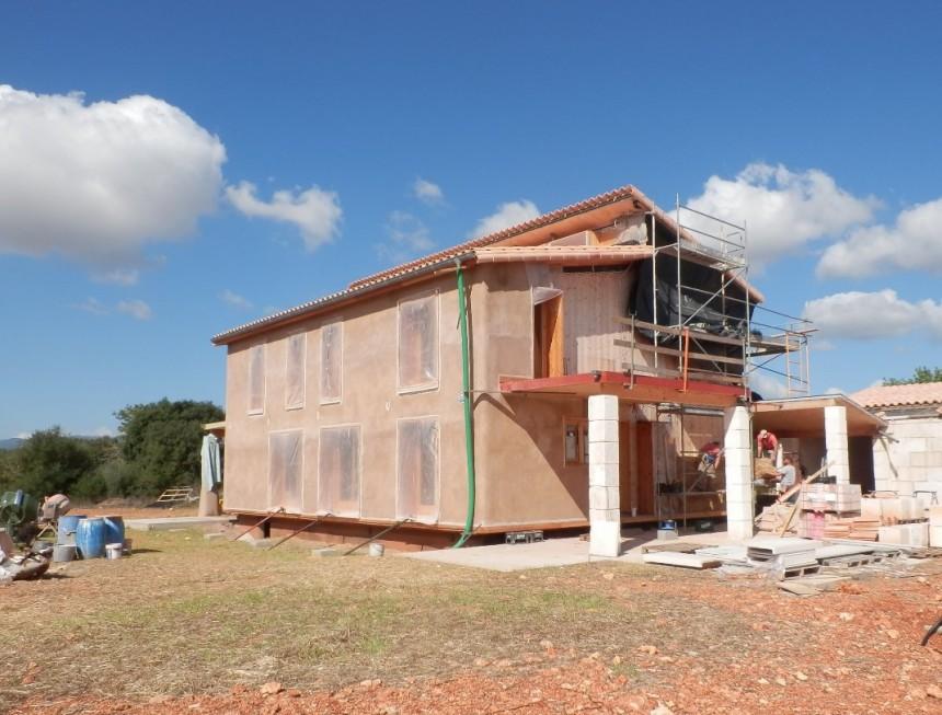 En construcción: Casa de paja en Inca (V)