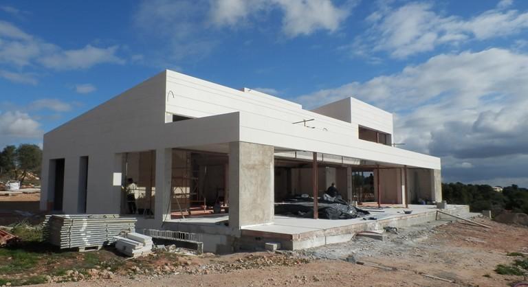 En construcción: casa en Puntiró I