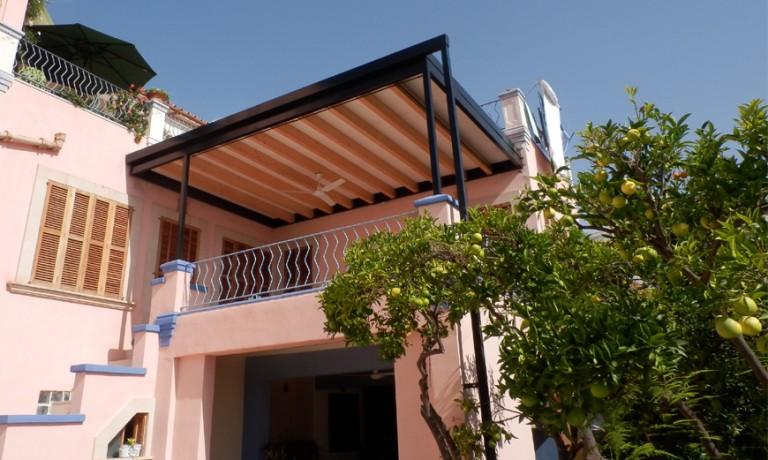 Diseño de porche en vivienda en Palma (2013)